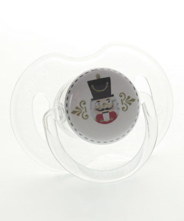 White Nutcracker Pacifier