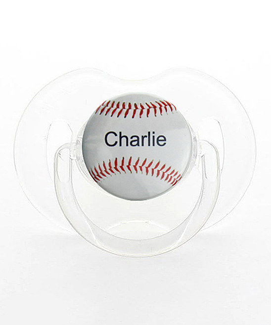 Personalized Name Baseball Pacifier